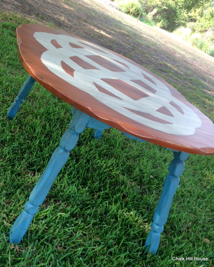 Chalk Painted Extension Table