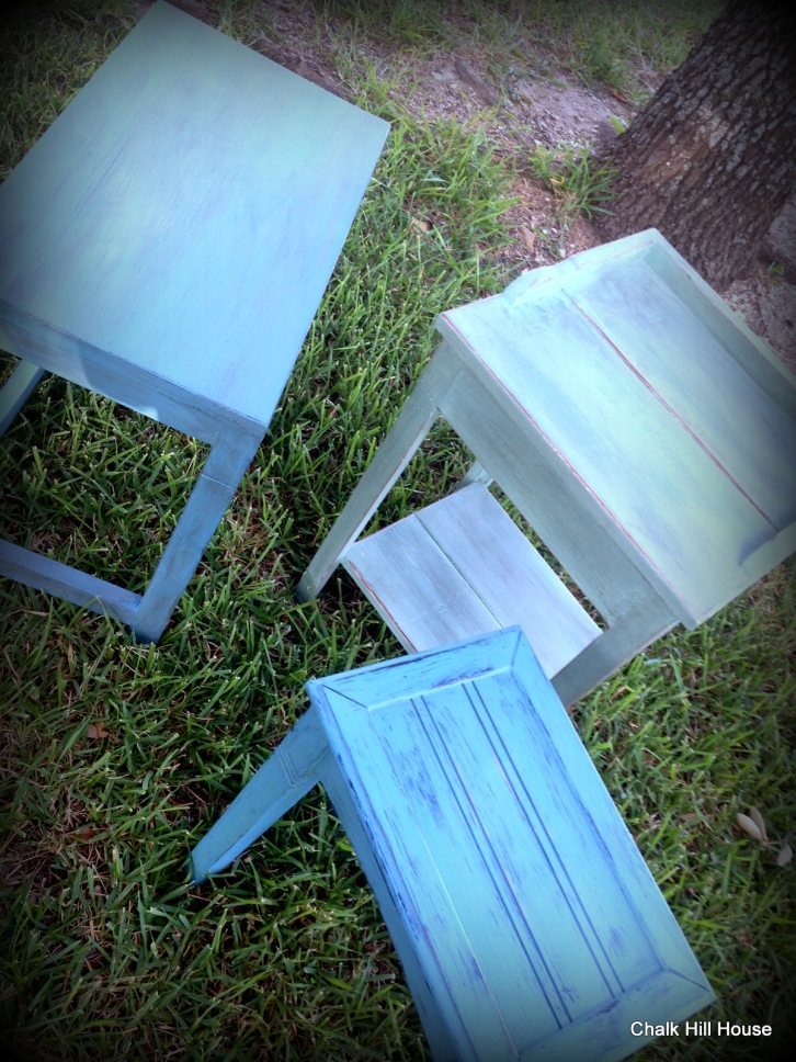 Chalk Painted Tables