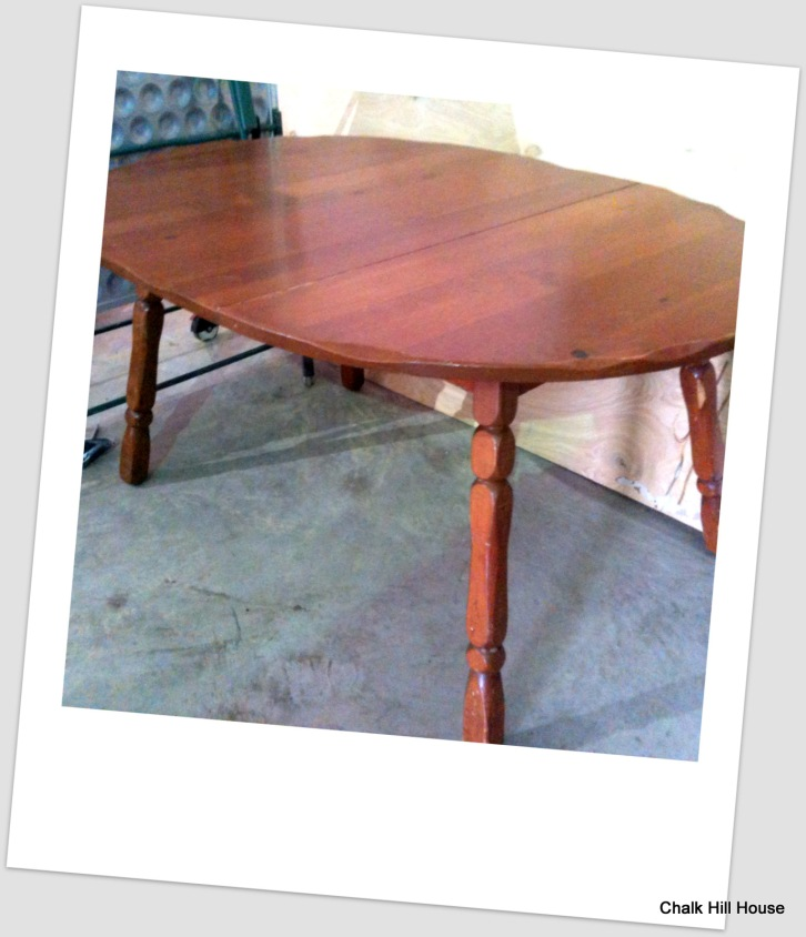 Vintage Wooden Extension Table