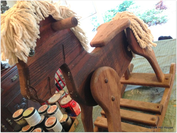 how to make rocking horse mane