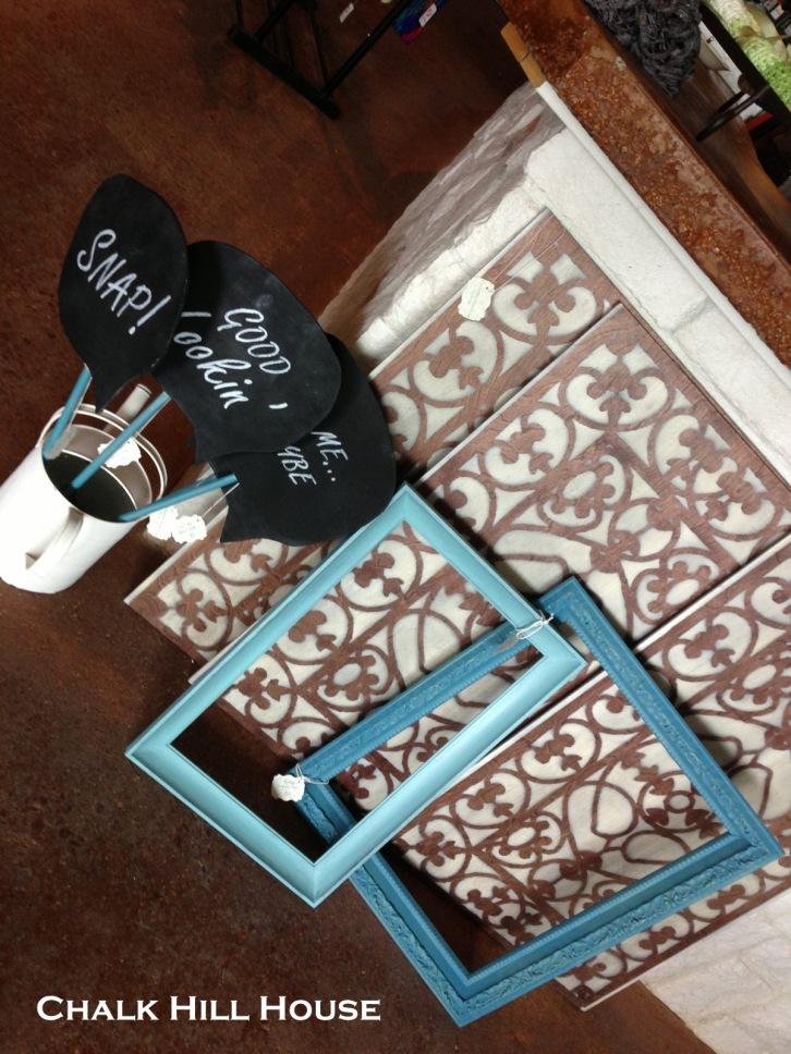 antiques alley spray paint floor mat art chalk hill house chalk paint picture frames