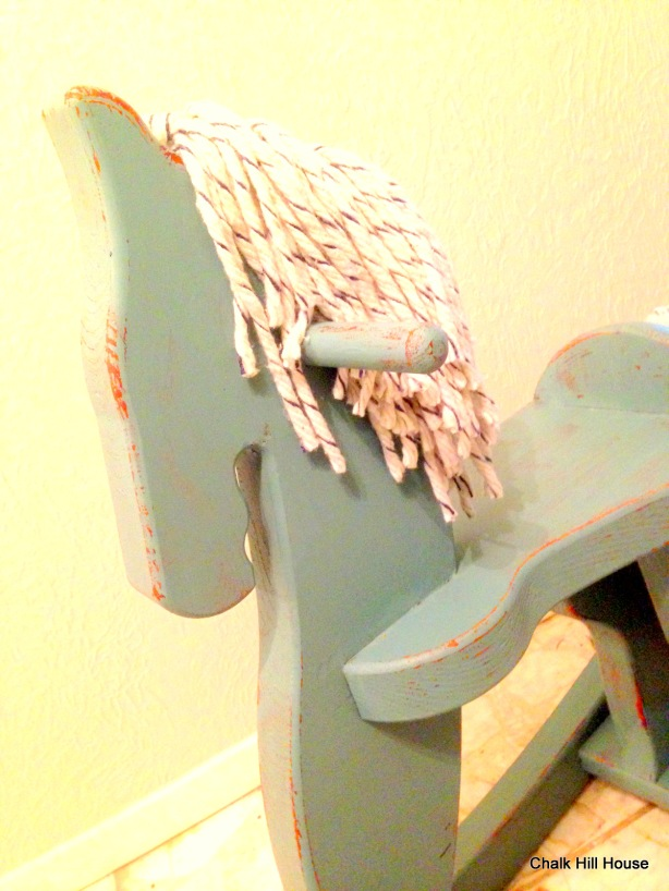 how to make rocking horse hair